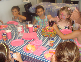 Paint Yourself Party Art Party Thornhill Richmond Hill North - Childrens birthday parties north york