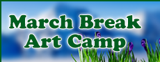 March Break Art Camp